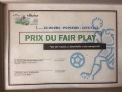 Fair Play - Etoile Sportive de Doubs