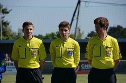 Mathis en demi-finale de coupe de l'Anjou U19 - Saint André Saint Macaire. FC