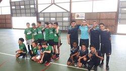 Les U11 finalistes foot salle - FC BIAS