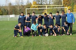 U15 contre Val de Guyenne le 19/11/2016 - FC BIAS