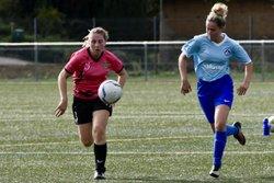 Retour en photos des féminines face a Liers avec une victoire!!! - football club chirens