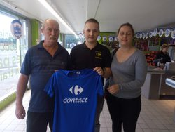 sponsors carrefour contact jussy - Football club clastrois