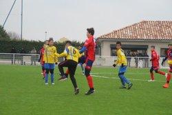 Coupe U13 à 8, nul 0-0 entre Eyrieux-Embroye et le FC Péageois - FC EYRIEUX EMBROYE