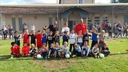 Les U7 à l'entraînement ! - Football Club du Mas Rillier