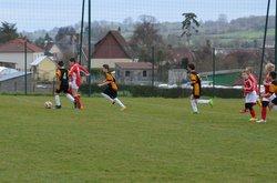 Les deux équipes U11 le 21 mars 2015 - FOOTBALL CLUB DE NEUFCHATEL