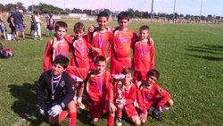 Vitoire tournoi Fontenilles en U11 septembre 2014 - FOOTBALL CLUB DU SAVES 31
