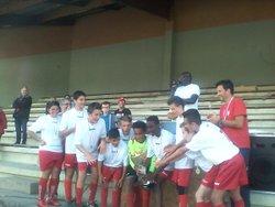 Victoire des U13 au tournoi Stéfani