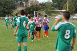U15 / CHAMPIONNAT / FCSAO 0 - 0 ST JULIEN-ST PAULET - FOOTBALL CLUB SAINT ALEXANDRE OLYMPIQUE