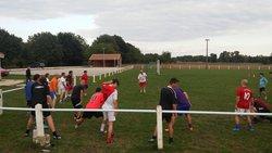 entrainement du 18/08/2015,  22 joueurs present - Football Club de Saint-Germain de Montbron