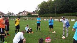 Match amical contre Javerlhac le 25/08/2015 - Football Club de Saint-Germain de Montbron