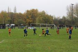 11/11/2017 : match nul 4-4 des U10/U11 face au RC Lens - FC Tortequesne