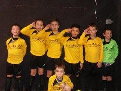 Nos U9 en salle à Heillecourt. - Football Club TOUL