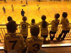 Tournoi U11 à Neuves Maisons oú nos jeunes se classent 7eme sur 16. Un résultat mitigé pour notre équipe qui a plus l habitude du grand air et de l espace. - Football Club TOUL