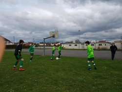 Victoire 2-5 des U14/U15 en Coupe du CPE Oise contre le FC Cauffry le 31/03/2018 - FC Tillé (U14 à U18)
