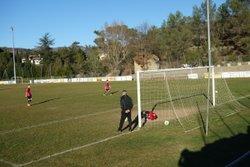 Match de coupe U15 à VESSEAUX le 10 janvier 2015 - Football Club 540