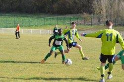 18 MARS 2018 CAHUZAC SUR VERE - LABASTIDE - FC Labastide de levis