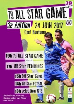 All Star Game 2017 - FOOTBALL  CLUB  BOUTONNAIS