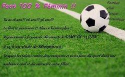 Football féminin - Football-Club du Canton de Mirambeau