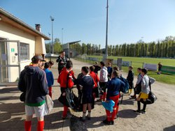 Journée sportive U11 & U13 // 17 04 18 - Football Club Casteljaloux