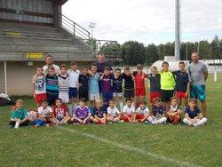 1er entraînement Ecole de foot / 5-09-17 - Football Club Casteljaloux