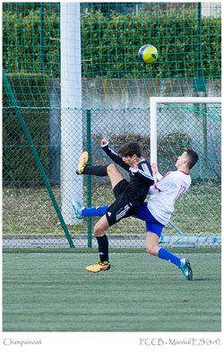 FCCB U17 - Manival ES - Football Club Crolles Bernin site officiel