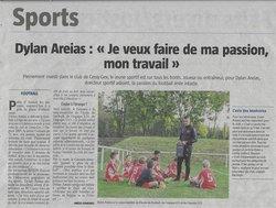 Merci & Bravo Dylan pour ton implication dans le club ! - Football Club Cessy Gex