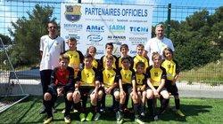 TOURNOI A MARTIGUES POUR LES U11 - Football Club Chabeuil