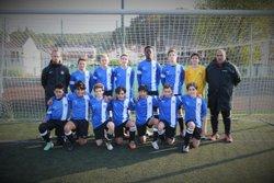 Equipe U15A 2016-2017 match contre La genevilloise - FC CHAVILLE