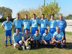 Dimanche 15 octobre 2017 : Seniors équipe réserve - FC Cheval-Blanc : Le Bleu et le Blanc sont nos couleurs