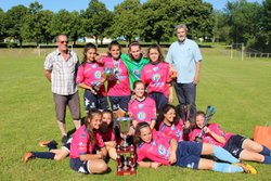 5ème Tournoi national féminin- samedi 10 juin 2017 - Football club du Canton d'oradour sur Vayres