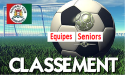 Classement équipe seniors au 13/11/2017 - FOOTBALL CLUB DE ROSENDAEL