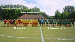 retour sur les journées d'acceuil U12/U13 - FOOTBALL CLUB DE ROSENDAEL