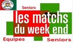 Programme du week end seniors - FOOTBALL CLUB DE ROSENDAEL