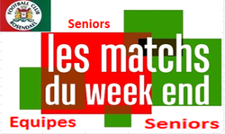 Planning du week end en équipes seniors - FOOTBALL CLUB DE ROSENDAEL