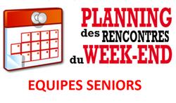 Planning Seniors A et B , Dimanche 23/09/2018 - FOOTBALL CLUB DE ROSENDAEL
