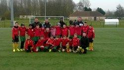MATCH AMICAL U11 FC ROSENDAEL CONTRE U11 CRUF CALAIS LE 28/03/2015 - FOOTBALL CLUB DE ROSENDAEL