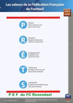 "P.E.F .Programme Educatif Fédéral  ""Actions Terrain """