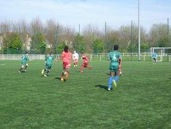 U13, match amical à Bussy, samedi 25 mars 2017 – Victoire 2-1, buteurs : Apollo et Yenni - FC EMERAINVILLE