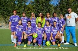 Féminines - Saison 2017-2018 - FOOTBALL CLUB FUVEAU PROVENCE