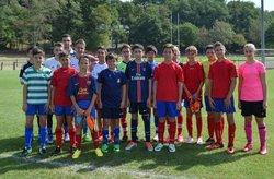 début des entraînements pour l'entente FCHagetmau_FCDoazit en U15 - FC HAGETMAU