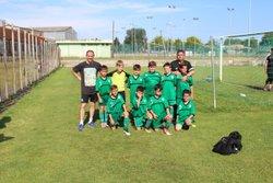 2 equipes au tournoi de florenssac , du jolie jeu sur le terrain  et une final Lespignanaise . - FOOTBALL CLUB LESPIGNAN VENDRES