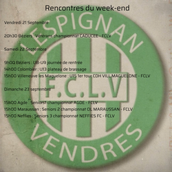 Rencontres du week-end