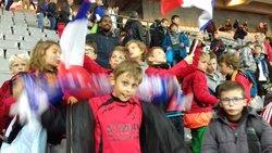 Match au stade de France   FRANCE - BULGARIE - FOOTBALL CLUB  MAREIL SUR MAULDRE