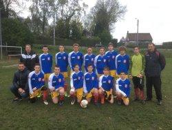 Félicitations aux U17 - Football Club de Marpent