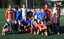 2016-08-24 - Intervention de Sébastien FAVRE chez les U13 - FC Montfaucon Morre Gennes La Vèze