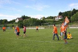 """2017-06-11 - La """"ReMontfaucon'tada"""" ... terrain envahi et Steph-Hatrikeur - FC Montfaucon Morre Gennes La Vèze"""