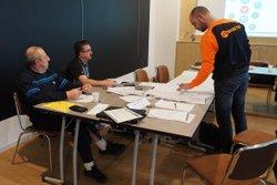 2018-01-26 - Stage CFF4 : les membres du bureau en formation - FC Montfaucon Morre Gennes La Vèze