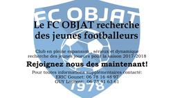 REJOIGNEZ NOUS - FC Objat