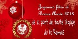 BONNE ANNÉE 2018 - FC REMOIS