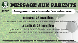 avis aux parents u6/u7